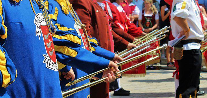 Music Band, Move, Brass Band, Pageant, Costume, Chapel