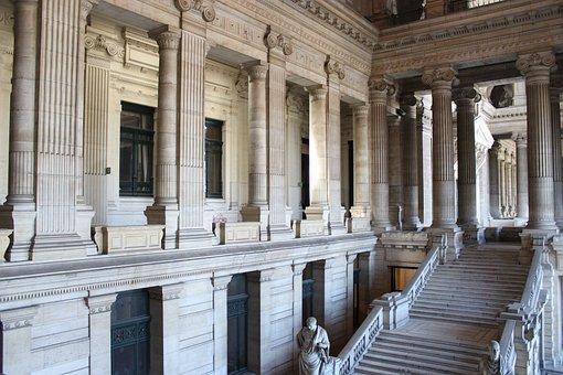 Palais De Justice De Bruxelles, Palace Of Justice