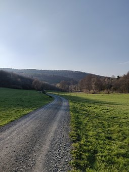 Landscape, Away, Recovery, Nature, Path, Road, Green