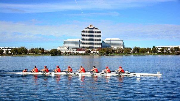 Sports, Foster City, Rowing, Rowing 8, Regatta