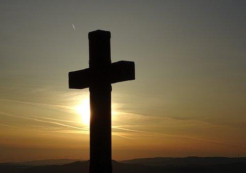 Sunrise, Easter, Resurrection, Symbol, Cross, Religion