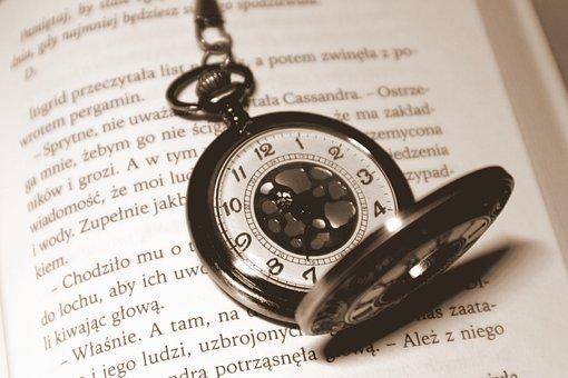 Clock, Book, Time, Watch, Old, Grandpa, Past