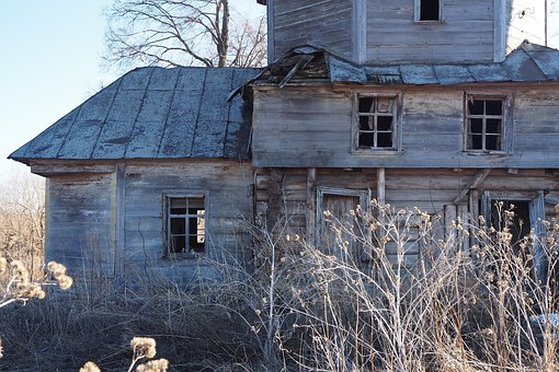 Russia, Ruin, Wood, Doors, Architecture, Old, Wooden
