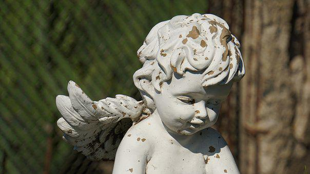 Angel, Angel Figure, Sculpture, Statue, Figure