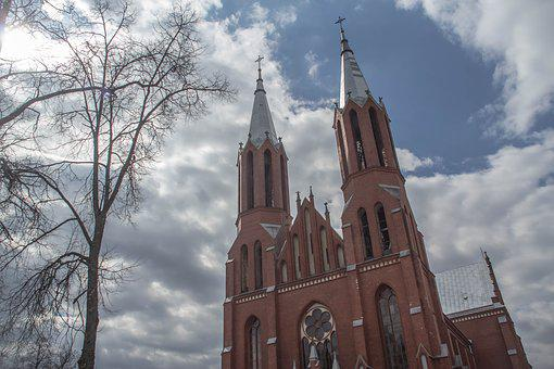 Building, Architecture, Sky, The Catholic Church
