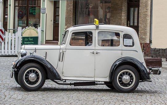 Austin, Seven, Oldtimer, Auto, Vehicle, Automotive, Old