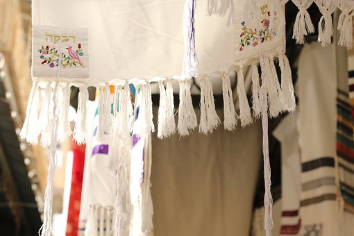 Judaism, Tallit, Cloth, Market, Jerusalem