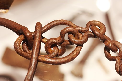 Rusty, Chain, Metal, Old, Iron, Rusted, Connection