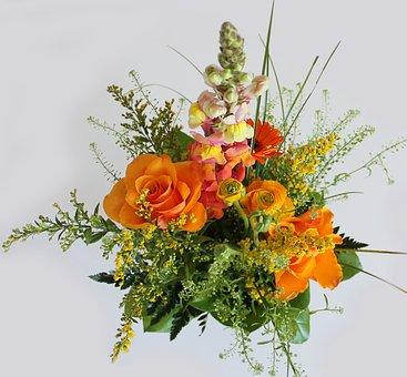 Bouquet, Forårsbuket, Spring Flowers, Easter Bundles