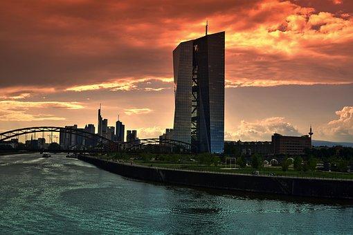 Ecb, European Central Bank, Frankfurt, Ffm, Frankfurt A