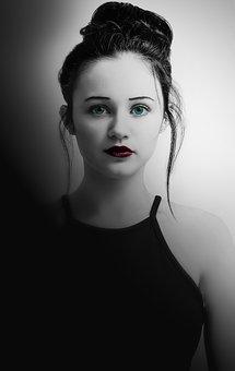 Woman, Girl, Beautiful, Young, People, Female, Art