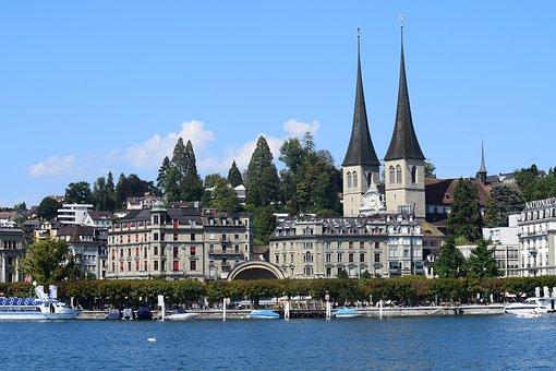 Europe, Switzerland, Landscape, Nature, Travel, Lake