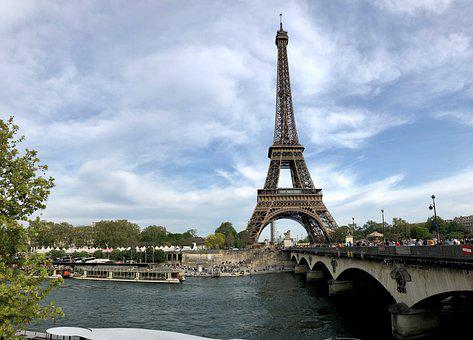 Paris, Eiffel Tower, Tower, France, Landmark