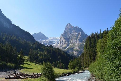 Switzerland, Swiss, Alps, Mountains, Landscape, Alpine