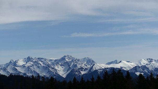 Mountain, Snow, Mountains, Landscape, Alpine, Winter