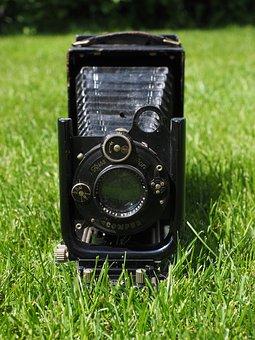 Nostalgia, Camera, Old, Compur, Zeiss, Lens