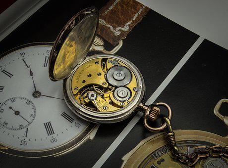 Movement, Clock, Pocket Watch, Gears, Timepiece, Old