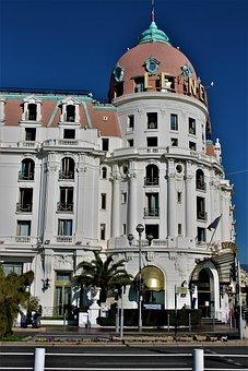 Nice, Negresco, Hotel, Hotel Le Negresco, Old Hotel