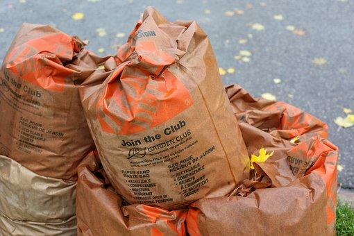 Leaves, Organic Waste, Lukewarm, Garbage Disposal