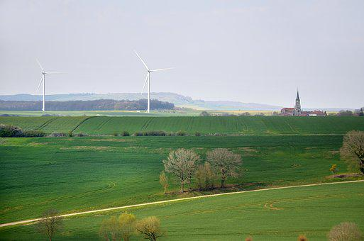 Sustainable Development, Wind Turbine, High Tech