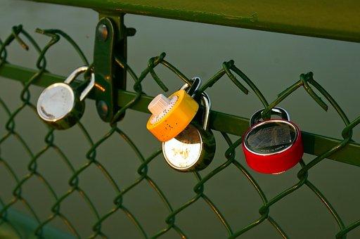 Love Lock Padlocks, Heart, Friendship, Lock, Symbol