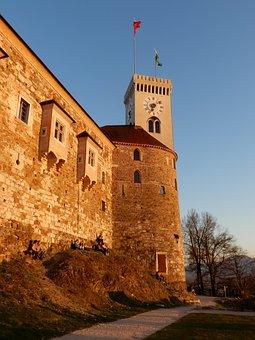 Slovenia, Ljubljana, Castle, Tower