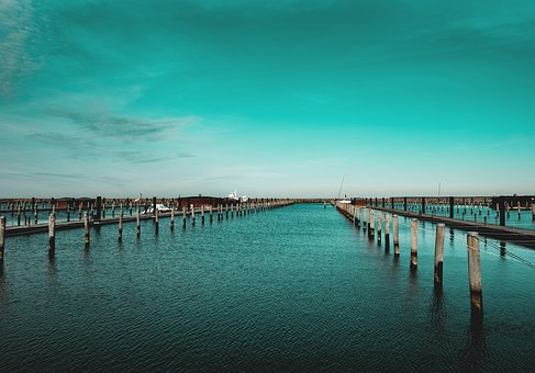 Port, Baltic Sea, Water, Sky, Boats, Vacations, Mood