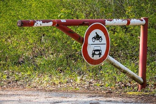 Turnpike, Barrier, Forbidden Passage, Shield