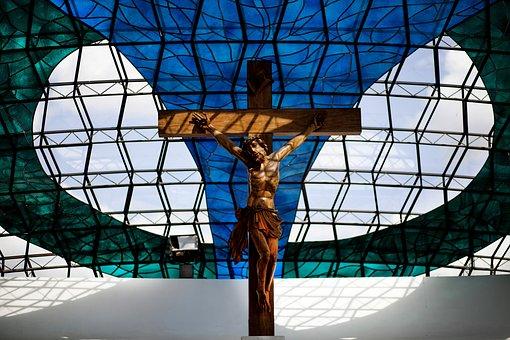 Christ, Crucifix, Faith, Religion, Santo, Church