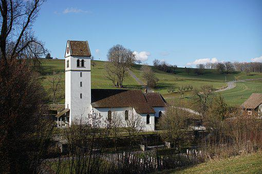 Church, Bözberg, Aargau, Switzerland, Religion, Worship