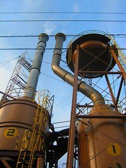 Industry, Coffee, Tanks, Plantation, Company, Smoke