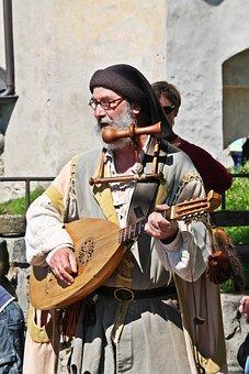 Minne, Minstrel, Middle Ages, Costume, Troubadour