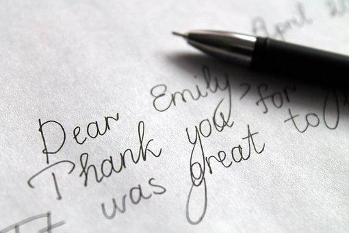 English, Letter, Correspondence, Friendly Letter