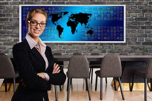 Success, Woman, Face, Businesswoman, Global