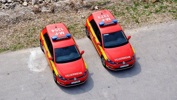 Fire, Rescue, Fire Fighter, Blue Light, Emergency, Helm
