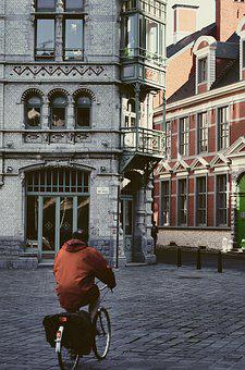 Tourism, Ghent, Old, City, Architecture, Travel, Gothic