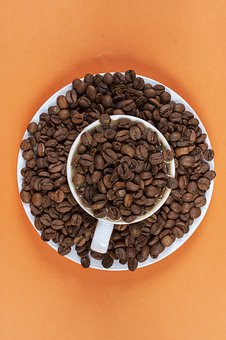 Coffee Bean, Glass, Cup, Seed, Fresh, Delicious, Food