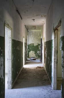 Abandoned, Room, Interior, Wall, Grunge, Vintage, Dirty