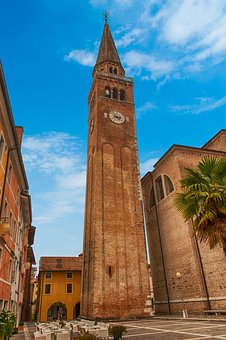 Italy, Architecture, Bell Tower, Old Town, City