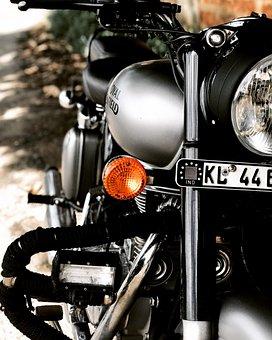 Bike, Bullet, Motorcycle, Enfield, Motorbike, Royal