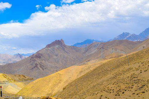 Leh, Ladakh, Mountains, Landscape, India, Kashmir