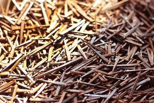Nails, Steel, Metal, Hardware, Carpentry, Building