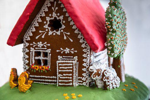 Hansel And Gretel, Sweetness, Decoration, Home, Nice