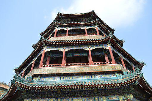 China, Temple, Beijing, Asia, Old, Historically