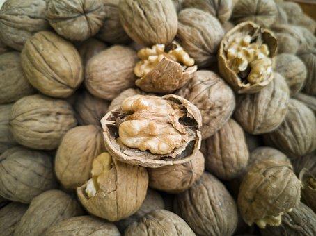 Walnut, Dried Fruits And Nuts, Shell, Sarmiento