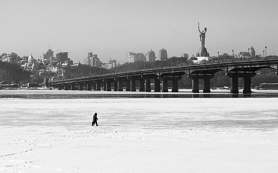 Winter, Ice, River, Snow, Nature, Cold, Frozen, Frost