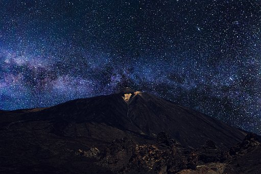 Milky Way, Teide, Tenerife, Spain, Canary Islands