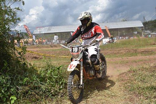 Motocross, Enduro, Rally, Sports, Extreme Sport, Racing
