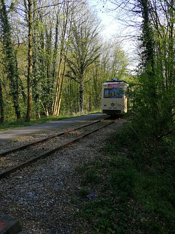 Tram, Antique, Rails, Vicinal, Thuin, Transport