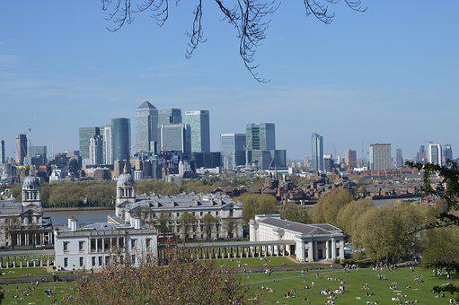 Greenwich, Town, England, City, Architecture, Park, Uk